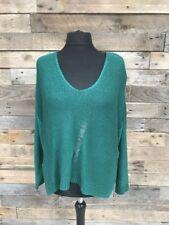 H&M Ladies Green Acrylic Knit Jumper BNWT Size Medium
