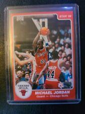 1996 Topps Stars Basketball Rookie Reprint 1984 Star Co 101 Michael Jordan Bulls
