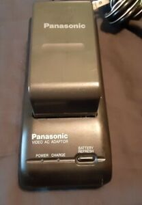 Panasonic PV-A16 Video AC Adaptor w/ Battery & AC Cord - Tested/Working