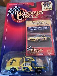 Dale Earnhardt #3 Wrangler 1987 Chevy Monte Carlo NASCAR Winners Circle 1:64 car