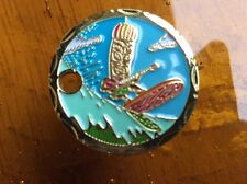 SURFING TIKI PLAYING GUITAR  - RARE LIMITED EDITION PATHTAG  - NEW ! V3