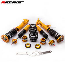For BMW E36 3 Series Adjustable Damper Coilover Shock Absorber Coil Spring Strut