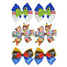 Toy Story Two Pack Hair Bows with Alligator Clips for Little Girls Boys Toddler