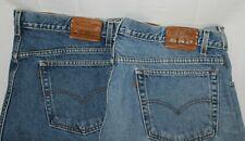 LOT of 2 LEVI'S Men's 42 X 32 Denim Blue 545 Loose Fit Jeans 5-Pocket