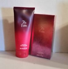 LOT OF AVON 'Flor Violeta' Eau De Parfum Spray FOR WOMEN 1.7oz 50ml+Body Lotion