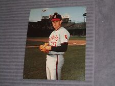 "NOLAN RYAN- 8x10"" COLOR PHOTO- ANGELS- 1970's"