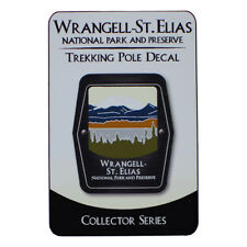 Wrangell – St. Elias National Park and Preserve Trekking Pole Decal - Alaska