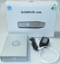 G-Technology G Drive USB 3.0 4TB   External Hard Drive 0G04458