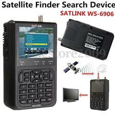 SATlink WS-6906 3.5'' DVB-S FTA Data Digital Satellite Dish Signal Finder Meter