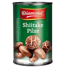 284g Shiitake Pilze ganz Diamond Brand in der Dose Tonko Shitake Pilze ATG 156g