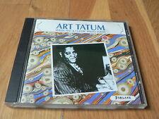 Art Tatum : Solos 1937 & Classic Piano Solos - CD Forlane 1988