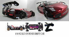 Lamborghini Gallardo WIDEBODY Custom 1/10 Scale Remote Control Onroad Drift Car