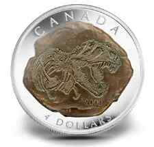 CLEARANCE MUST SELL! Canada 2009 Tyrannosaurus Rex 99.99% Silver DINOSAUR coin