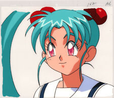 Magical Girl Pretty Sammy Anime Cel Animation Art Sasami Colose-Up AIC