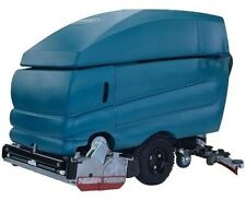 Reconditioned Tennant 5700 32� cylindrical sweeper scrubber walk behind