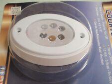 LED COURTESY LIGHT OVAL LEDOCL2KDP BUILT IN SWITCH WHITE COCKPIT CABIN BOAT LITE
