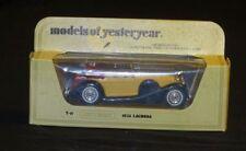 Matchbox,1938 Lagonda Drophead,Y11, Model of Yesteryears, Mib, Uk