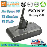 For Dyson V8 Animal /Absolute Handheld Vacuum Cleaner 21.6V 4.0Ah Li-Ion Battery