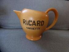 pichet ricard anisette 0.75 L ancien atelier ceramique made in france
