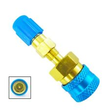 R1234YF to R134A Adapter Quick Coupler Conversion Kit R12 to R134A AC Can Valve