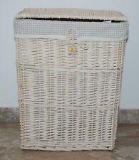 Cesto porta biancheria portabiancheria in vimini  46x34x h.58 cm