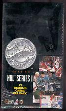 1991-92 Pro Set Platinum Hockey Series One 1 Hockey Factory Sealed Box