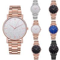 Luxury Women's Watch Waterproof Leather Stainless Steel Analog Quartz Watches