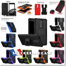Etui Coque housse Pneu Antichocs Shockproof Combo Heavy Tire Case cover Nokia 8
