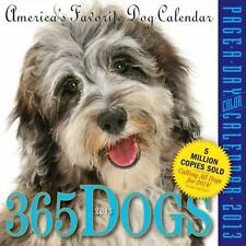 365 DOGS PAGE-A-DAY 2012 CALENDAR By Workman Publishing **BRAND NEW**