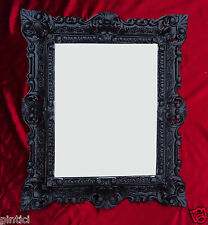 Picture Frame Black Baroque Rectangular 45x37 Photo Mirror Frame Picture Frame