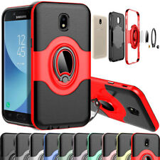 Luxury Leather Case For Samsung Galaxy J7 J5 J3 Pro 2017 with Ring Stand Holder