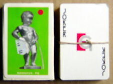 TWO PLAYING CARD GAMES, MANNEKEN PIS + FOREST *** 2 JEUX DE CARTES, MANNEKEN PIS