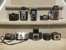 lot of 10 cameras Box Folding, others   - full listing below