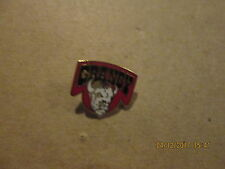 QMJHL Granby Bisons Vintage Defunct Circa 1980's Logo Junior Hockey Lapel Pin
