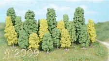 * Heki scala N 1318 20 alberi decidui trees  tutti con piedistallo