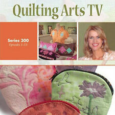NEW 4 DVD SET: QUILTING ARTS TV Season 3 All 13 Episodes NEW 4 DVDs Organza