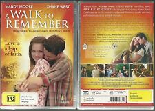 A WALK TO REMEMBER LOVE IS A LEAP OF FAITH MANDY MOORE SHANE WEST NEW DVD