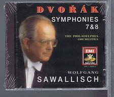 DVORAK CD NEW SYMPHONIES 7 & 8 WOLFGANG SAWALLISCH