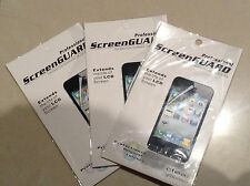 3 x iPhone 5 iPhone 5S iPhone 5C Ultra Clear Screen Protector - with Package