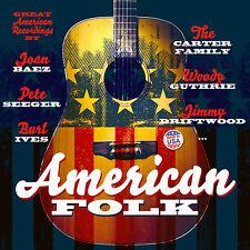 CD AMERICAN FOLK von Varios Artistas 2cds incl Joan Baez , Jimmie Driftwood
