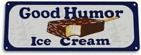 Good Humor Ice Cream Kitchen Cottage Rustic Retro Ice Cream Metal Decor Sign