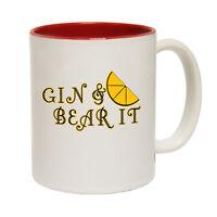 Funny Coffee Mug Novelty Birthday Gift Gin Bear It