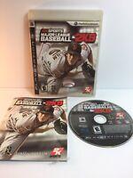 PS3 Major League Baseball 2K9