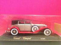 SOLIDO AGE D'OR SUPERBE CORD COUPE 1/43 NEUF EN BOITE W7