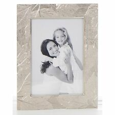 Delicate Leaf Silver Frame 4 x 6 Photo Picture Shabby Chic Gift Novelty