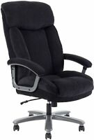 CLATINA Ergonomic & Tall Executive Office Chair with Upholstered Swivel 400lbs