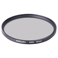 RISE(UK) 72mm 72 mm Neutral Density ND2 Filter for camera Lens with 72mm thread