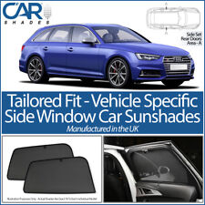 Audi A4 B9 Avant 5dr 2015> CAR SHADES UK TAILORED UV SIDE WINDOW SUN BLINDS BABY