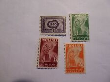 Romania 1930 Census set m/mint