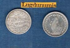 Suisse - 50 Centimes 1921 B en Argent Silver Silber - Switzerland Helvetia